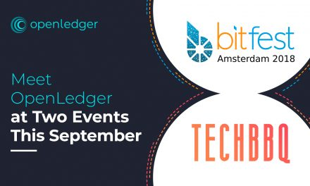 OpenLedger to Attend Two Events This September