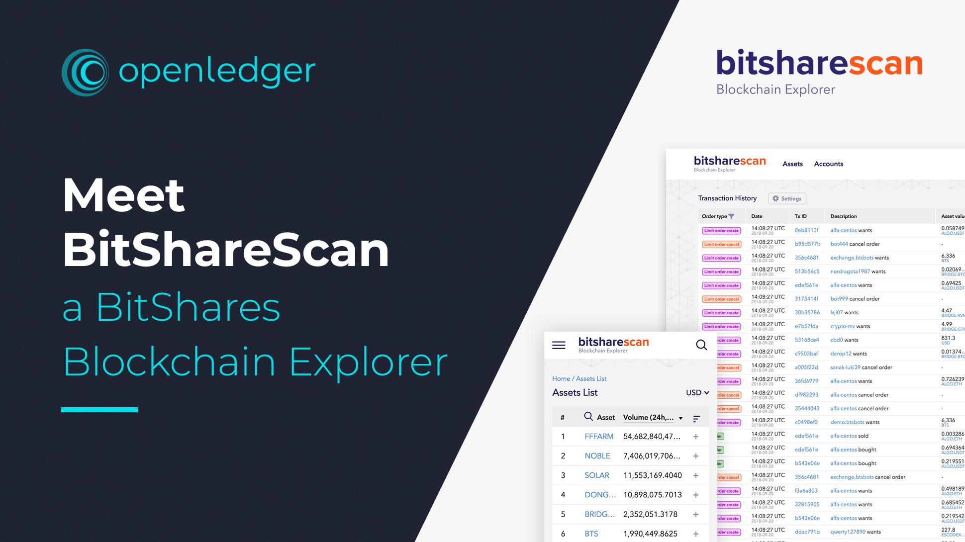 BitShareScan – a New BitShares Blockchain Explorer