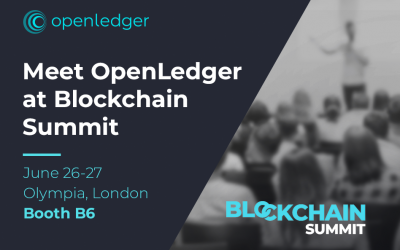 OpenLedger at Blockchain Summit London 2019