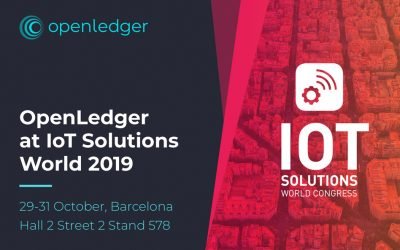 Meet OpenLedger at IoT Solutions World Congress in Barcelona