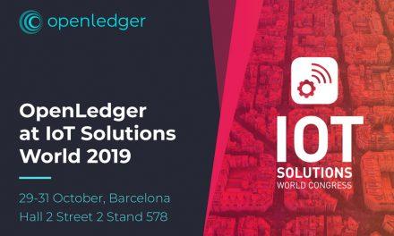 Meet OpenLedger at IoT Solutions World Congress in Barcelona