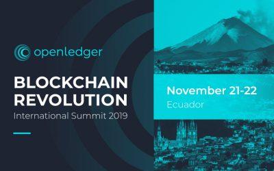 OpenLedger will Speak at Blockchain Revolution International Summit Ecuador 2019